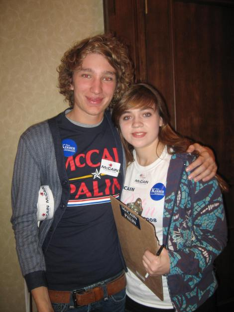 Dylan and Becka, Young Republicans