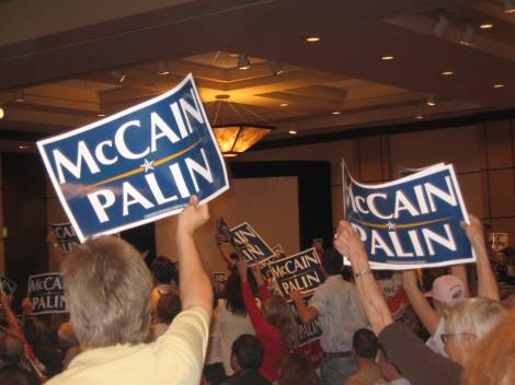 McCain Supporters believe God is on their side